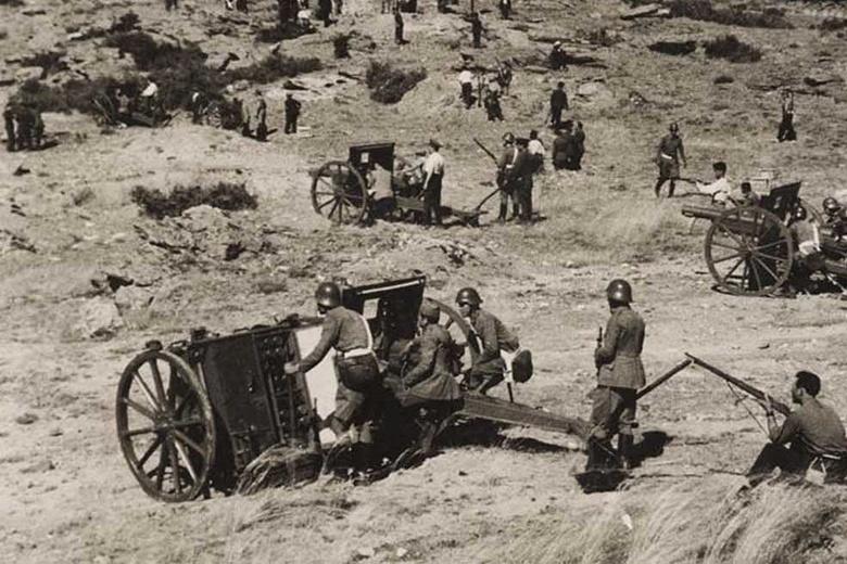 Гражданская война в Испании, где воевал Михаил Кутейников