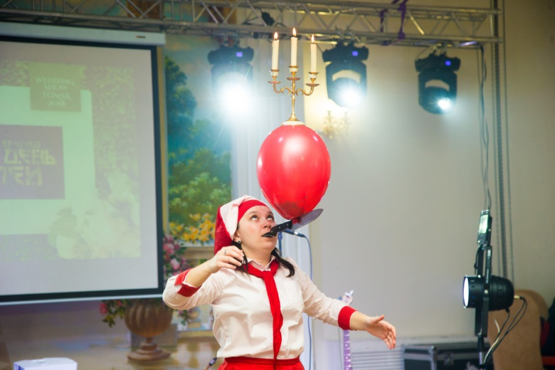 В Томске начала работу свадебная выставка