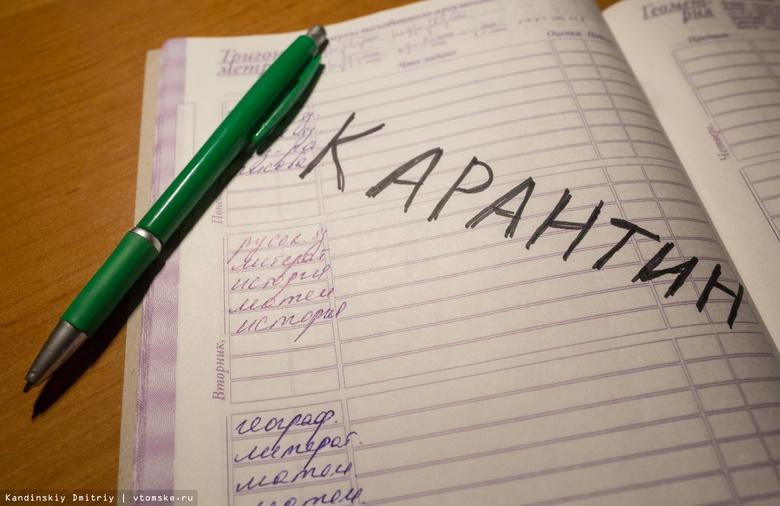 Облздрав: 25 классов в Томской области закрыты на карантин