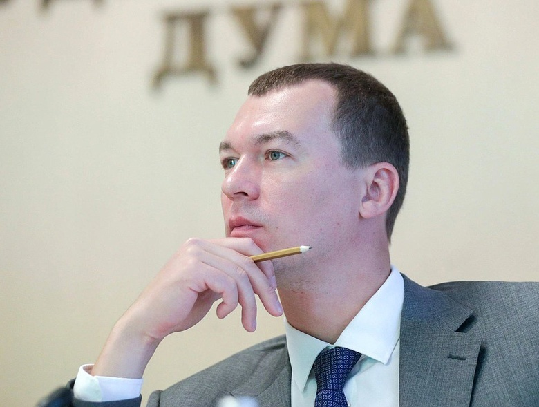 Путин назначил врио главы Хабаровского края депутата от ЛДПР Дегтярева