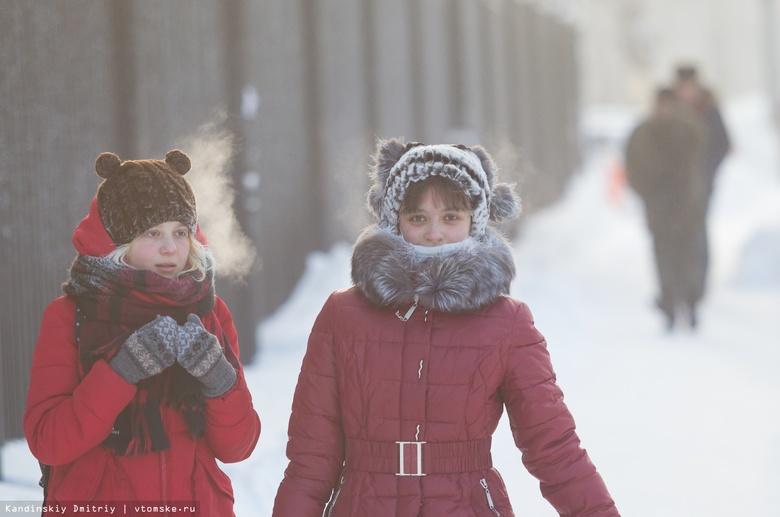 Сильные морозы пришли в Сибирь