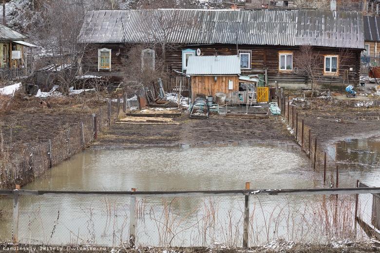 МЧС предупреждает о возможном подтоплении нескольких дорог и сел в Томской области