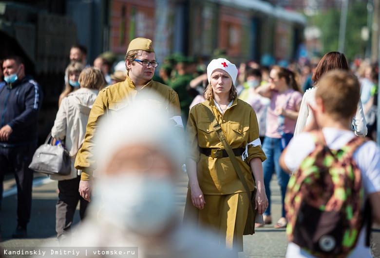 Армия народа: агитпоезд Минобороны с выставкой и военной техникой прибыл в Томск