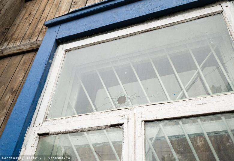 Очевидец: пуля пробила окно дома в центре Томска