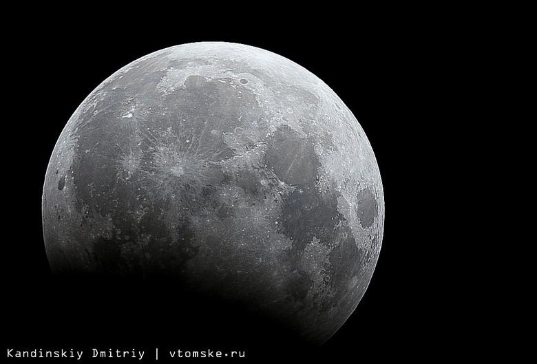 Лунное затмение увидят томичи в ночь на 17 июля
