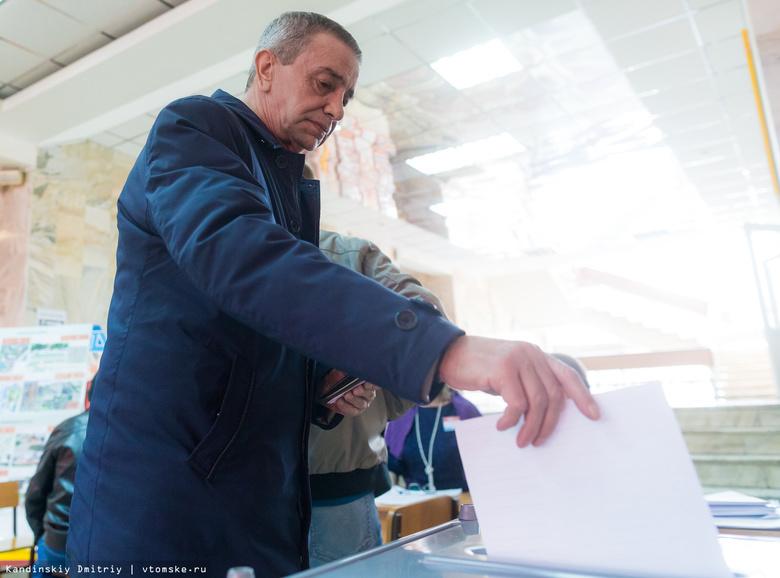 За 2 часа до окончания выборов в Томской области проголосовало более 415 тыс человек