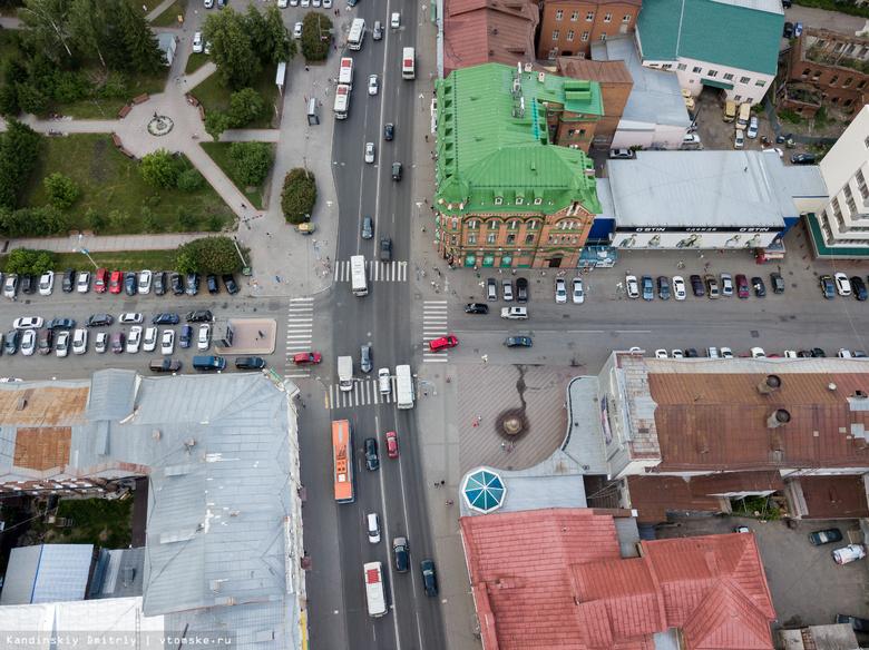 «СПб-Гранит» завершит реконструкцию участка главной улицы Томска в ноябре