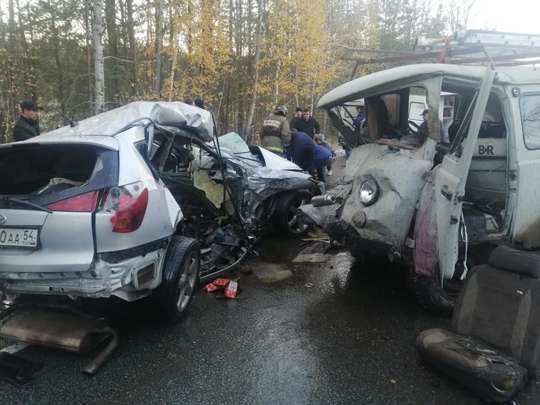 Один погиб, трое пострадали в ДТП на трассе Новосибирск — Томск