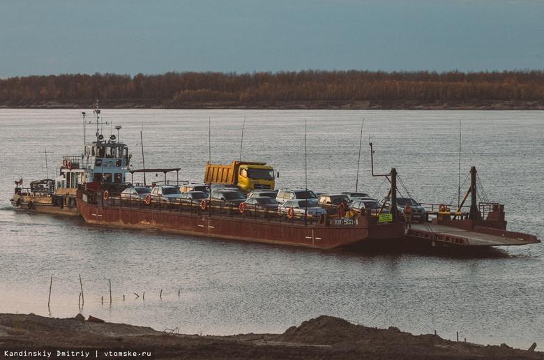 Паром из Колпашево с пассажирами на борту 5 часов не мог причалить к берегу