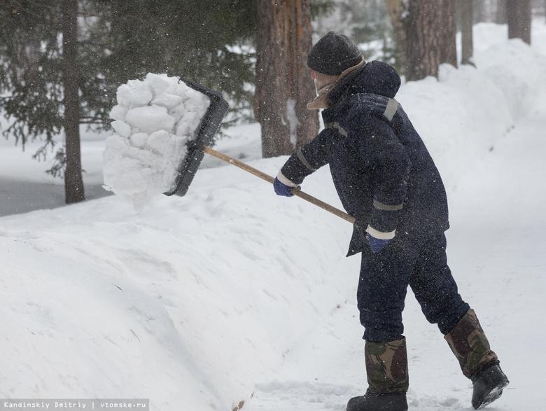Исследование: уборкой снега в Томске довольны лишь 10% жителей