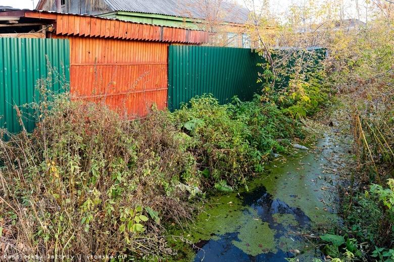 Томичи растащили новые деревянные туалеты на дрова. Они продолжают использовать ведра и кусты