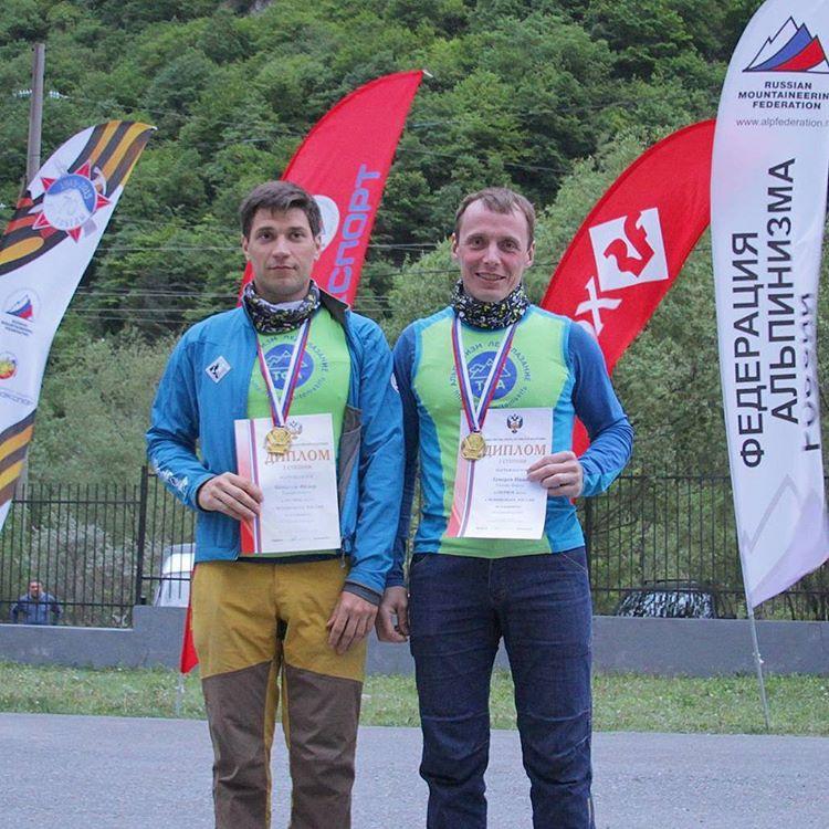 Томичи стали чемпионами России по альпинизму в скальном классе