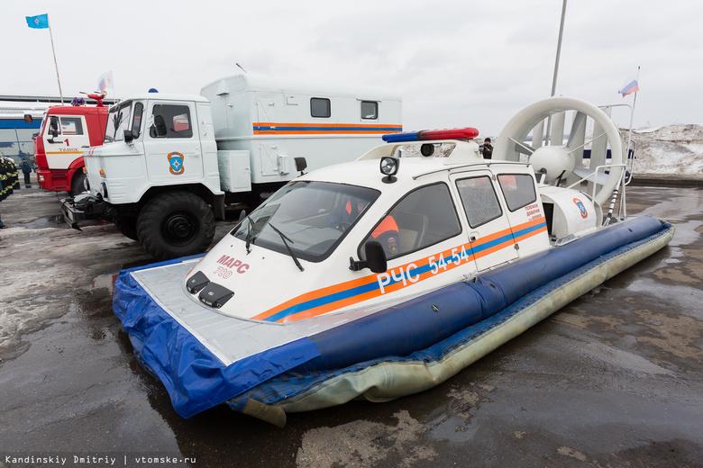 Спецслужбы Томска перешли на круглосуточное дежурство в преддверии паводка