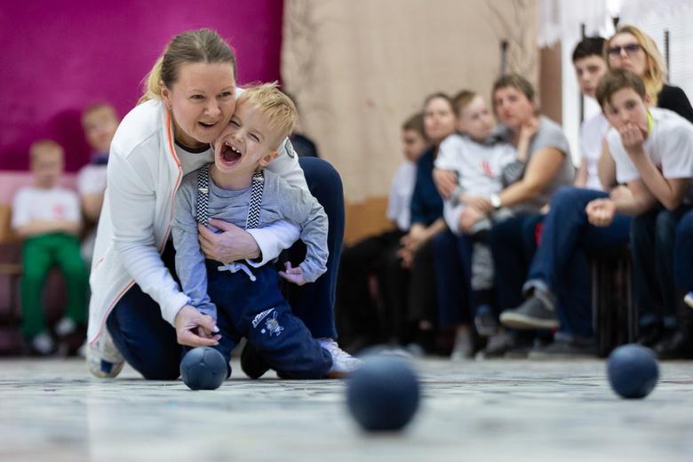 Спортивный фестиваль бочча под Томском собрал 40 команд детей-инвалидов