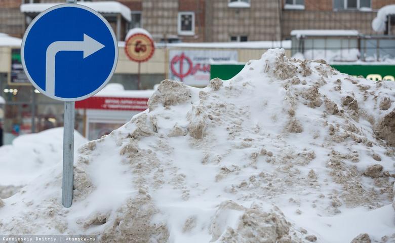Актив томской молодежи запустил челлендж по уборке снега во дворах