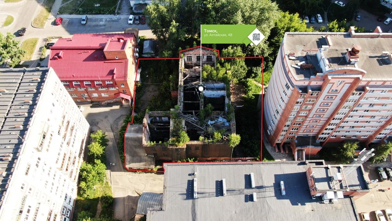 Томский дом-памятник, где учился летчик Иван Черных, продан на торгах за 11,7 млн руб