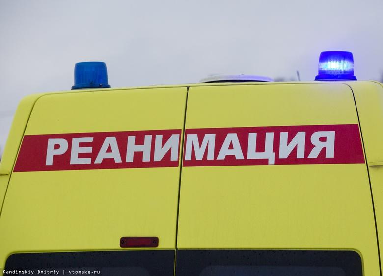 В Томске мотоциклист врезался в иномарку и попал в больницу