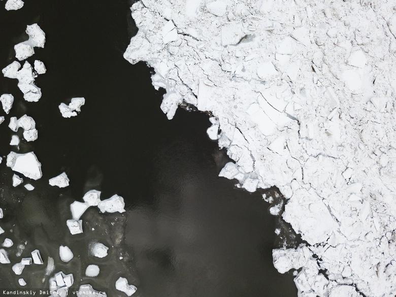 Специалист: вскрытие рек в Томской области ожидается раньше срока