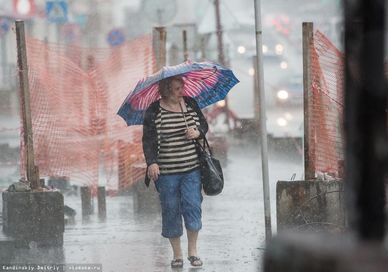 Синоптики объявили штормовое предупреждение в Томской области