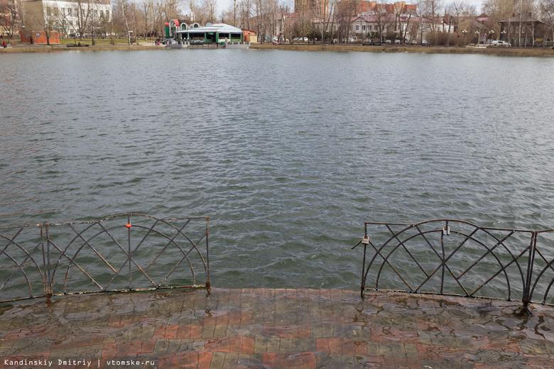 Томские власти: плавающего фонтана на Белом озере не будет