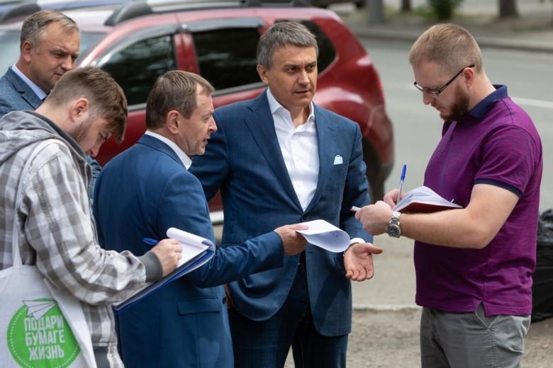 Сергей Автомонов обсудил с властями города развитие Советского района