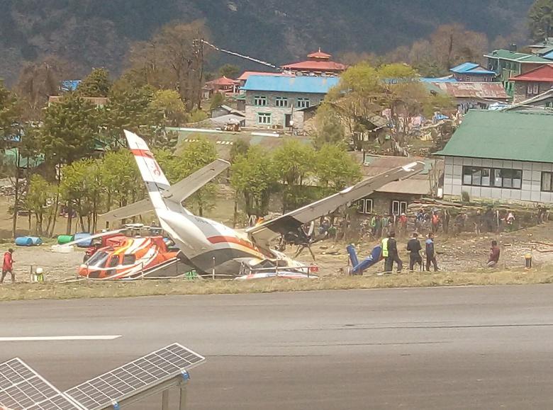 Томич стал свидетелем авиакатастрофы в Непале