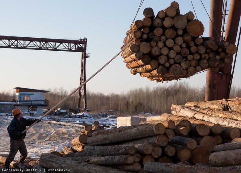 Вывоз томского леса в Азию увеличился до 1,4 млн кубометров