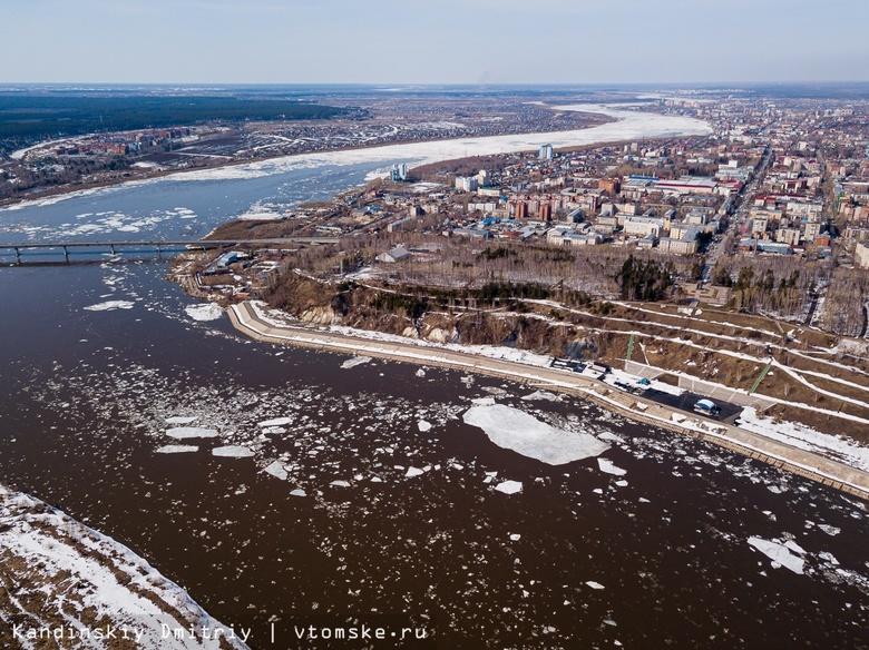 Ледоход, непринятый отчет мэра и электросамокаты в Томске: дайджест новостей