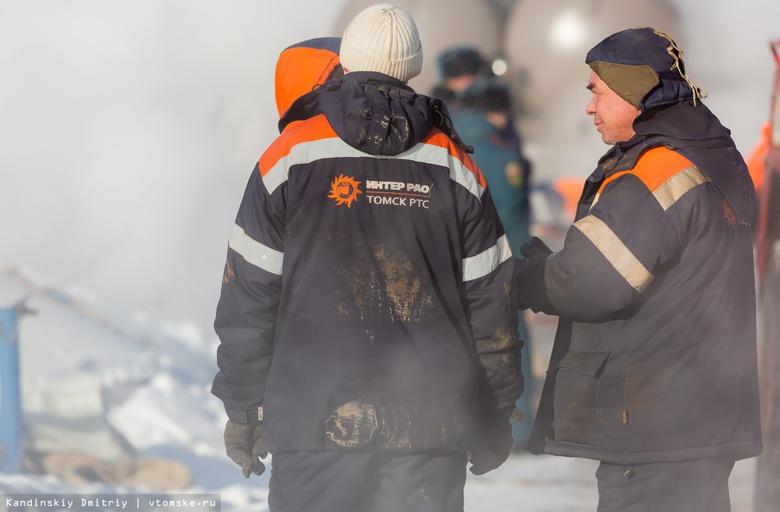 Коммунальщики устранили причину порыва на теплосетях в Октябрьском районе