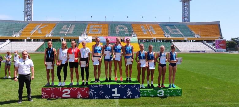 Юные легкоатлеты из Томской области взяли 3 золота и бронзу на первенстве России