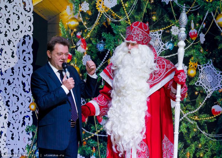 Главный Дед Мороз РФ поздравил маленьких томичей из многодетных семей (фото)