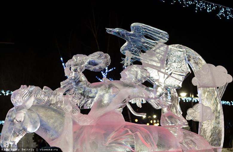 Скульптура «Шаман» стала лучшей на фестивале «Хрустальный Томск»