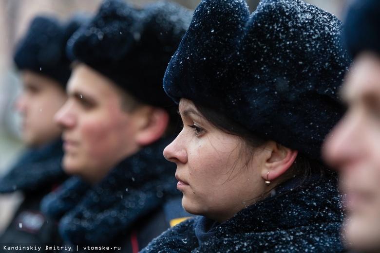 «Служба 24/7»: смотр сил и средств полиции прошел в Томске