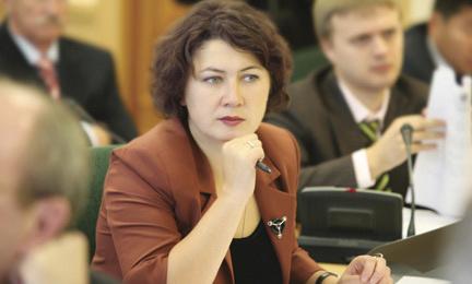 Немцева будет руководить томским отделением эсеров еще два года
