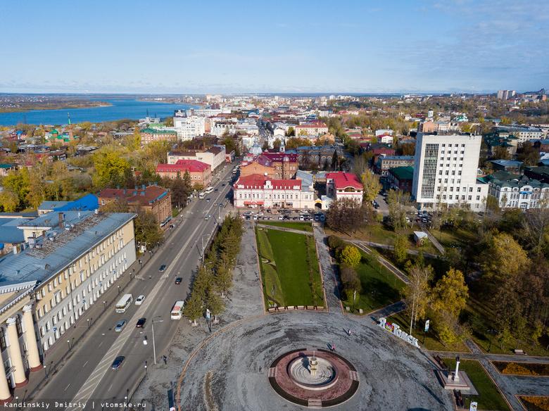 Ремонтные работы на проспекте Ленина к томскому марафону начнутся в понедельник