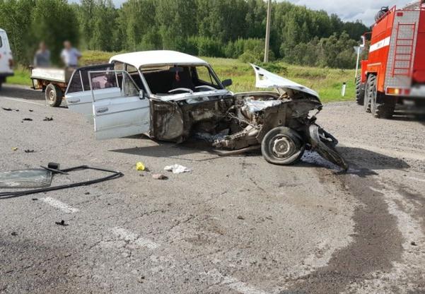 Пассажир автомобиля пострадал вДТП надороге Томск— Мариинск