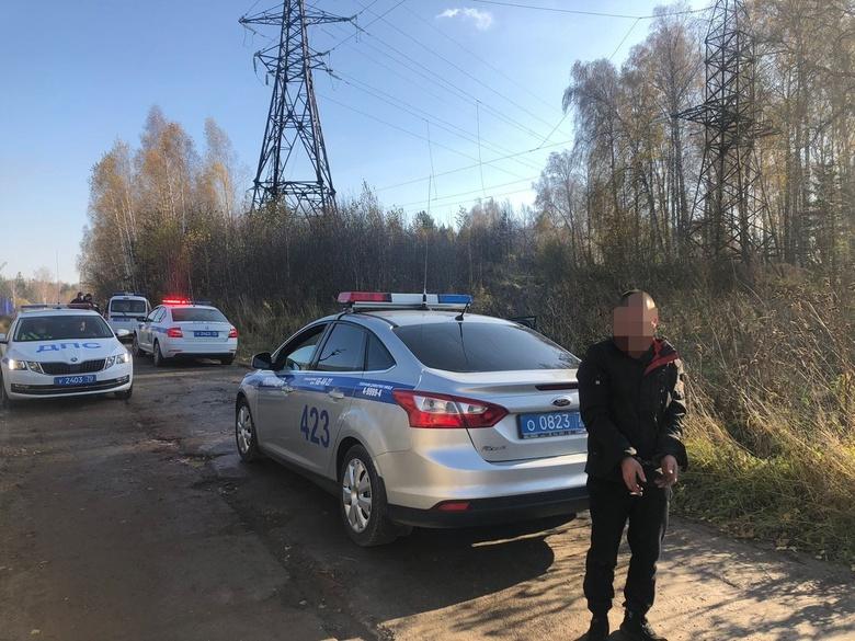 Полиция устроила в Томске погоню за водителем трактора, который хотел скрыться