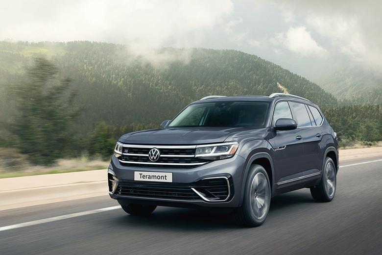 Volkswagen объявляет цены нового Teramont