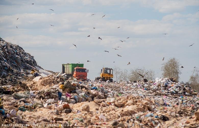 Власти: мусорный полигон под Томском продолжает тлеть