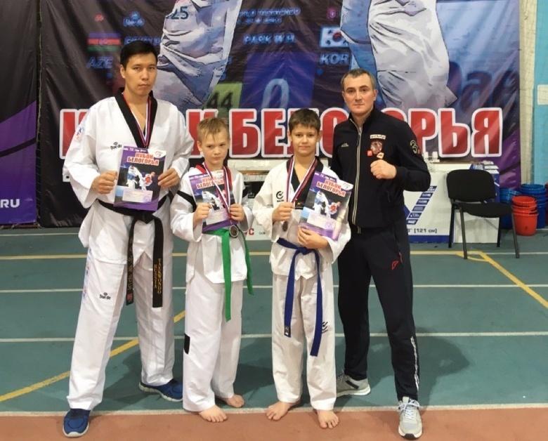Спортсмены из Томска стали призерами всероссийских соревнований по тхэквондо