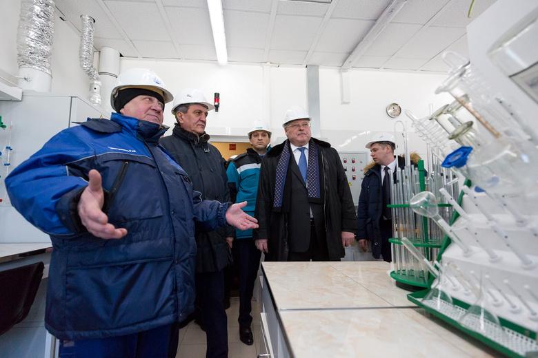 Завод по производству технических газов за 1,1 млрд руб открыли в Томске