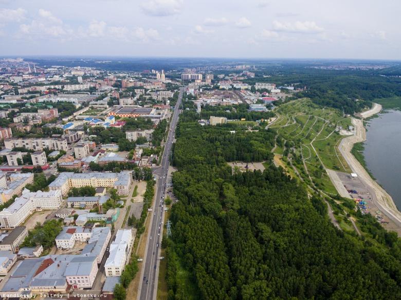 Благоустройство террасы Лагерного сада в Томске начнется в середине июля