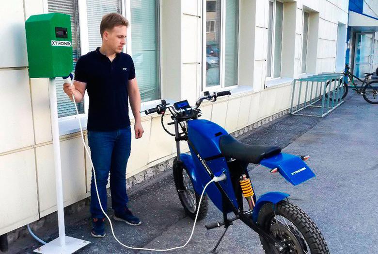 ТУСУР установил первую в Томске «зарядку» для электротранспорта