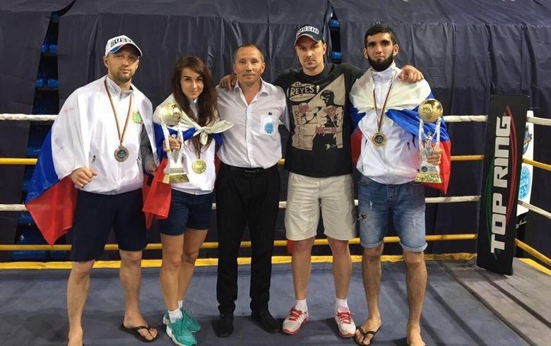 Томские кикбоксеры взяли золото на Кубке мира в Италии