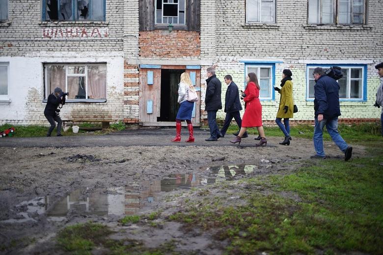 Паршуто остался недоволен тем, как Томский район потратил госсредства на ремонт дворов