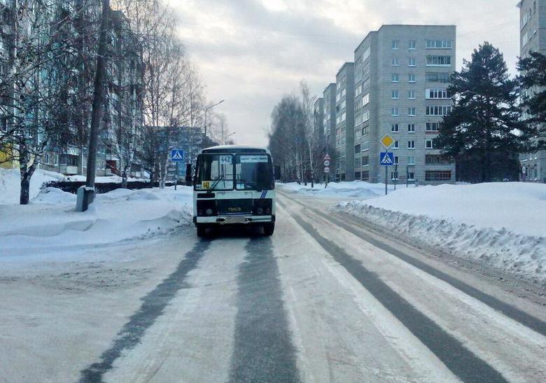 В Северске маршрутка сбила пенсионерку на пешеходном переходе