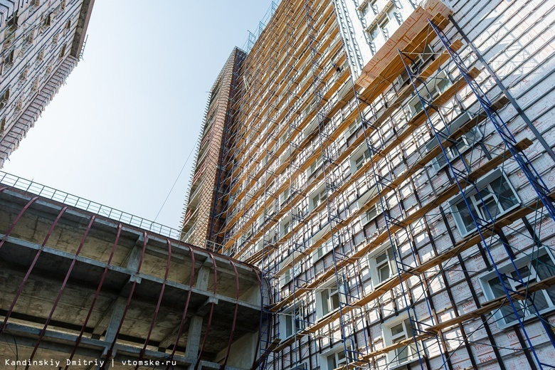 Новое общежитие ТГУ на берегу Томи сдадут в конце 2019г