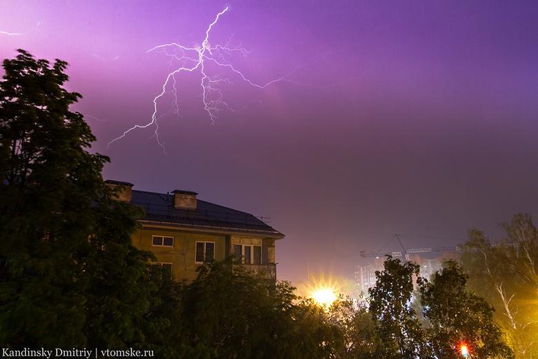 Штормовое предупреждение объявлено по Томской области на 5 июля