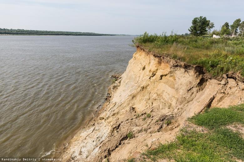 Несколько десятков домов расселят в Томской области из-за разрушения берегов рек