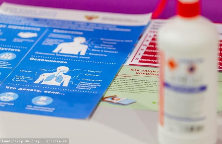 Коэффициент распространения коронавируса в Томской области держится ниже 1